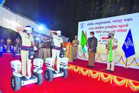 "नागपुर पुलिस को मिलेे 10 ""फ्रीगो 2 व्हील'"