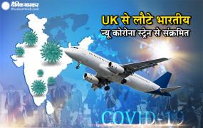 New corona strain: UK से भारत लौटे 14 यात्रियों में पाया गया कोरोना का नया स्ट्रेन, देश में अब तक 20 केस