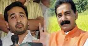 नीतेश ने शिवसेना विधायक सालवी को भाजपा में शामिल होने का दिया प्रस्ताव