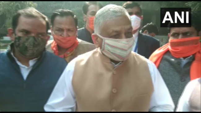 Farmers Protest: कृषी कानून के खिलाफ प्रदर्शन पर बोले केंद्रीय मंत्री वीके सिंह- जो प्रदर्शन कर रहे हैं वे किसान तो नहीं दिखते