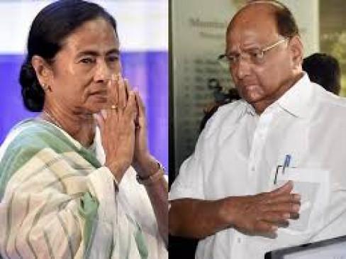 ममता बनर्जी के समर्थन में पश्चिम बंगाल जाएंगे पवार, सरकार गिराना चाहती है बीजेपी
