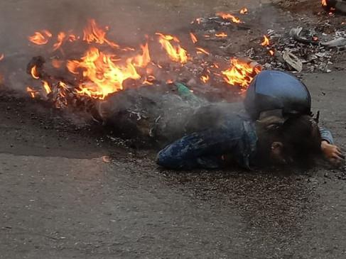 25 साल की टीचर पर हाईटेंशन तार गिरा, जिंदा जली, करंट के डर से लोग बेबस होकर देखते रहे
