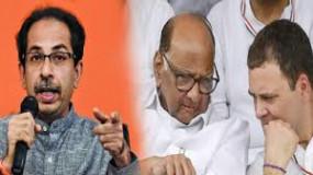 सामना के जरिए शिवसेना ने कांग्रेस और राहुल के नेतृत्व पर उठाए सवाल, नसीम का पलटवार