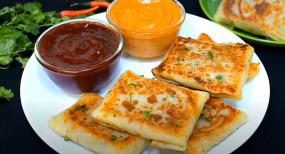 Snacks: 5 मिनट में घर पर बनाएं वेजी चीज व्रैप, आसान है रेसिपी