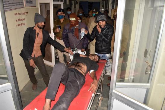पूछताछ के लिए थाने बुलाए गए युवक की हालत बिगड़ी, जबलपुर रेफर- परिजनों ने पुलिस पर लगाए पिटाई के आरोप
