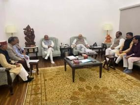 Farmers Protest: पंजाब बीजेपी के नेताओं से मिले गृह मंत्री अमित शाह, किसान आंदोलन की जमीनी स्थिति की जानकारी ली