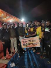 बीसीसीएन सतना को हराकर वॉइस क्लब सिवनी ने जीता क्रिकेट टूर्नामेंट