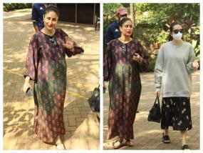 Photos: बहन करिश्मा के साथ नजर आई करीना कपूर खान, चेहरे पर दिखा प्रेग्नेंसी ग्लो