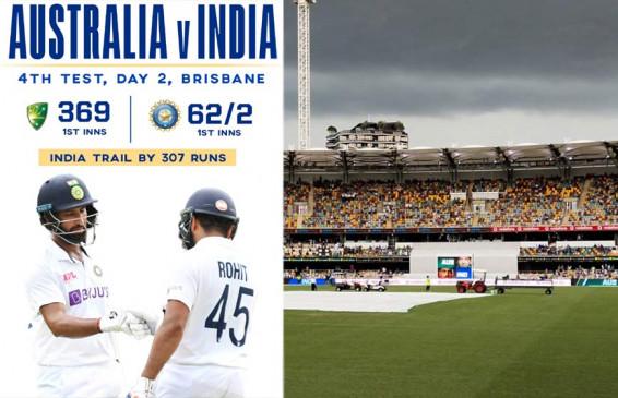 #AUSvIND : भारत ने ओपनरों को गंवाया, स्कोर 62/2, आस्ट्रेलिया की पहली पारी 369 पर सिमटी