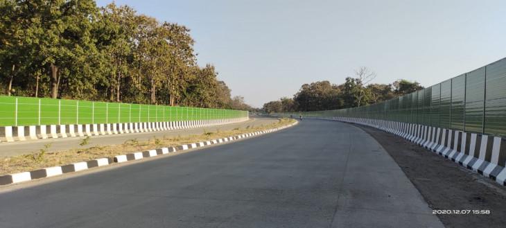 नागपुर तक अब फर्राटे से दौड़ सकेेंगे बड़े वाहन - कुरई घाटी में निर्माण के चलते 8 माह पहले डायवर्ट हुआ था यातायात