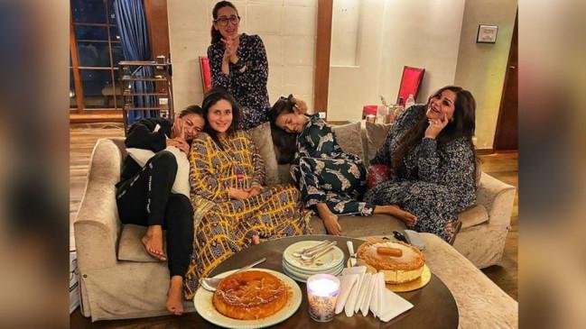 Photos: प्रेग्नेंट करीना कपूर ने की गर्ल गैंग के साथ पार्टी, जल्द बनने वाली हैं दूसरे बच्चे की मां
