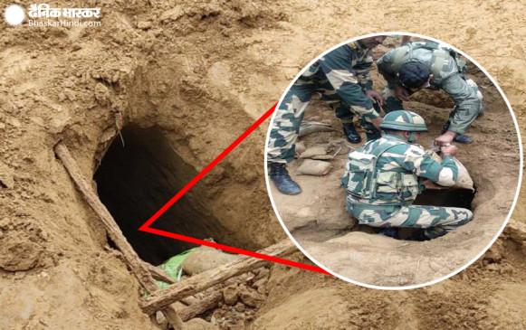 जम्मू-कश्मीर: पाकिस्तान की साजिश का पर्दाफाश, BSF ने दस दिन में LOC के पास दूसरी सुरंग का पता लगाया