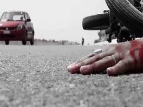 कार ने बाइक को मारी टक्कर, दो छात्रों की मौत