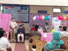 बीड जिले में कोरोना टीकाकरण का रिहर्सल, ड्राय रन अभियान सफल