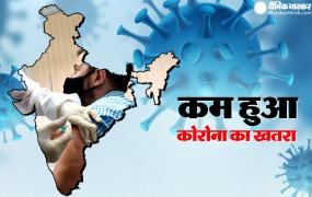Coronavirus in India: भारत में कोरोना का खतरा कम हुआ, 24 घंटे में मिले 15 हजार नए केस