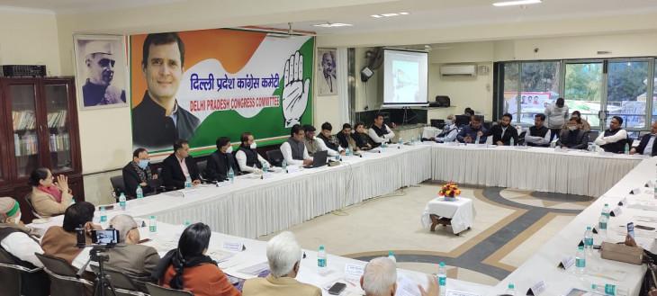 दिल्ली कांग्रेस का राहुल गांधी को तत्काल प्रभाव से पार्टी अध्यक्ष बनाने का प्रस्ताव,  सर्वसम्मति से हुआ पास