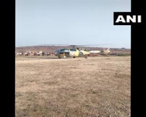 करौली के कैला देवी क्षेत्र में सेना के हेलीकॉप्टर की एमरजेंसी लैंडिग, दोनों पायलट सुरक्षित