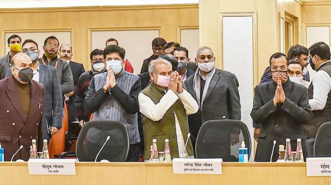 Farmer Protest Day 51: सरकार और किसानों के बीच 9वें दौर की बैठक भी रही बेनतीजा, 19 जनवरी को अगली वार्ता