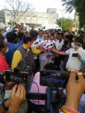 मृतक शिशुओं के परिवार को पांच लाख की मदद - स्वास्थ्य मंत्री राजेश टोपे