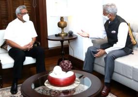 राष्ट्रपति राजपक्षे से मिले विदेश मंत्री एस.जयशंकर, कहा- कोरोना काल में भी द्विपक्षीय संबंधों में कोई कमी नहीं आई