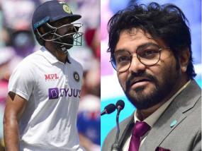 धीमी बल्लेबाजी पर बाबुल सुप्रियो का कमेंट, हनुमा का दो शब्द का जवाब सोशल मीडिया पर वायरल