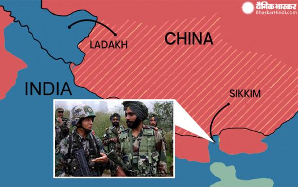 India-China border dispute: नाकू ला में चीनी सैनिकों ने फिर की घुसपैठ की कोशिश, भारतीय सैनिकों ने खदेड़ा