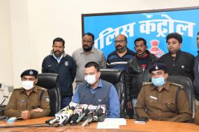 यूपी के लुटरे एमपी में कर रहे थे लूट, चेन स्नेचिंग की चार वारदातों का जबलपुर पुलिस ने किया खुलासा