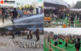 Haryana: प्रदर्शनकारी किसानों ने महापंचायत में की तोड़फोड़, पुलिस ने आंसू गैस के गोले दागे, सीएम खट्टर को रद्द करना पड़ा कार्यक्रम