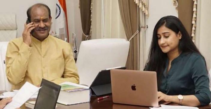 लोकसभा स्पीकर की छोटी बेटी ने पहले ही प्रयास में UPSC क्रैक किया, महिला सशक्तिकरण की दिशा में काम करना चाहती हैं