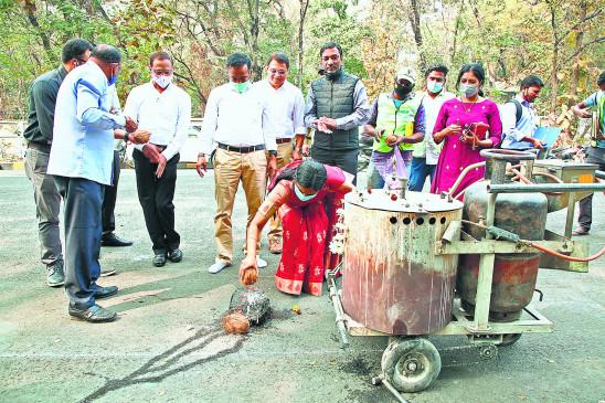 नागपुर को मिली सौगात,   पहले चरण में छह किलोमीटर की साइकिल ट्रैक