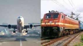गो एयर की दो फ्लाइट देरी से पहुंचीं, 20 जनवरी से शुरु हो रही नई ट्रेनें
