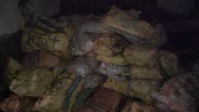 अवैध मैगनीज का गढ़ बना पौनिया - 150 बोरी मैगनीज की बदामद
