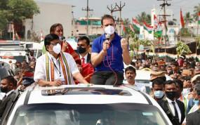 कांग्रेस नेता राहुल गांधी बोले- प्रधानमंत्री ने 6 सालों में देशभर में नफरत फैलाई, हमारी सबसे बड़ी ताकत, अर्थव्यवस्था ध्वस्त हो गई