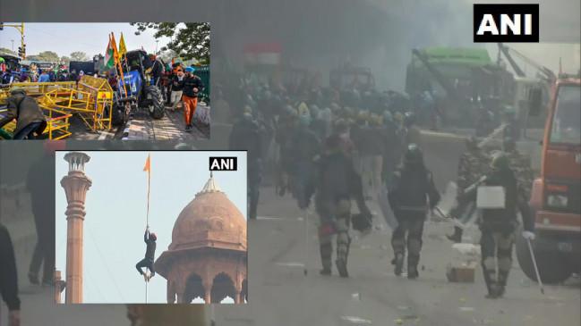 Tractor Rally : ट्रैक्टर परेड हिंसा में घायल हुए 83 पुलिसकर्मी, 45 ट्रॉमा सेंटर में भर्ती, गृह मंत्री अमित शाह ने रिपोर्ट तलब की, दिल्ली में सामान्य हो रहे हालात thumbnail