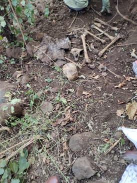 खुलासा: पति की हत्या कर शव गड्ढे में किया दफन, दो माह पूर्व मिला था नरकंकाल, पत्नी गिरफ्तार
