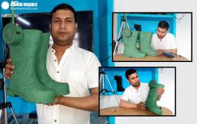 PM मोदी के संसदीय क्षेत्र काशी के युवा ने बनाया खास जूता, बार्डर पर दुश्मन को रोकने चलाएगा गोलियां
