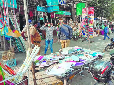 नागपुर में नायलॉन मांजा बेचने वाले तीन गिरफ्तार