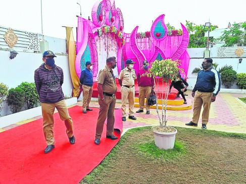नागपुर में 6 मंगल कार्यालयों से वसूला 1.89 लाख हर्जाना