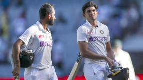 Chennai test : 420 रनों के लक्ष्य के जवाब में भारत 39/1, जीत के लिए आखिरी दिन बनाने होंगे 381 रन; गिल और पुजारा नॉटआउट