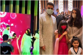 Video: ऐश्वर्या राय बच्चन ने बेटी के साथ लगाए 'देसी गर्ल' पर ठुमके