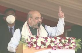 Assam Assembly Election: जनसभा में बोले अमित शाह- मोदी जी के नेतृत्व में पूरे उत्तर पूर्व में विकास की नई शुरुआत हुई