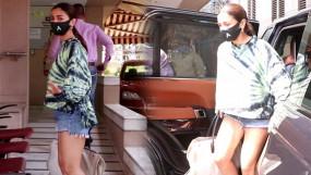 आलिया भट्ट पहुंची आई क्लिनिक, रणबीर कपूर के बॉडीगार्ड रहे मौजूद