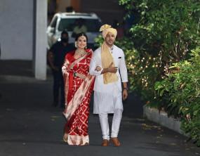 Wedding Photos: साहिल सांगासे अलग होने के बाद एक्ट्रेस दीया मिर्ज़ा ने लिए वैभव रेखी के साथ सात फेरे, दोनों की है दूसरी शादी