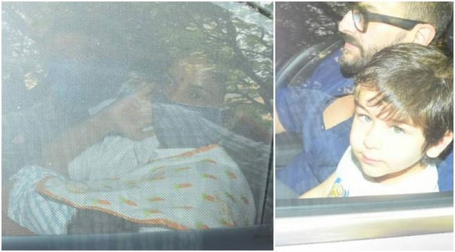 करीना कपूर अस्पताल से घर पहुंची, नैनी की बाहों में नजर आया न्यू बेबी, पहली तस्वीर आई सामने