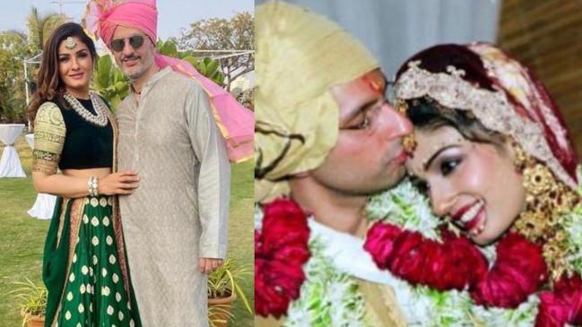 Wedding anniversary: रवीना टंडन ने शेयर की थ्रोबैक पिक्चर्स, अक्षय कुमार से सगाई टूटने के बाद की थी फिल्म डिस्ट्रीब्यूटर से शादी