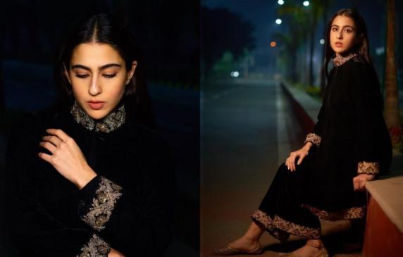 सारा अली खान का 'बैक टू ब्लैक' लुक वायरल, 10 लाख से भी ज्यादा लोगों ने किया पसंद