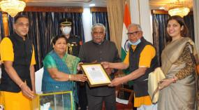 छिंदवाड़ा की बेटी ने राज्यपाल के तौर पर लोगों से मिलने का बनाया वल्र्ड रिकार्ड