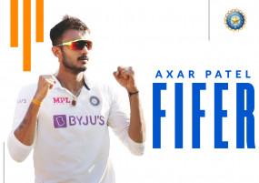 IND vs ENG: लगातार दूसरे मैच में 5 विकेट लेने वाले तीसरे भारतीयगेंदबाज बने अक्षर, बोले- मेरा लक्ष्य विकेट टू विकेट गेंदबाजी करना था