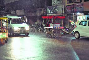 नागपुर में बेमौसम बारिश से फसल को नुकसान