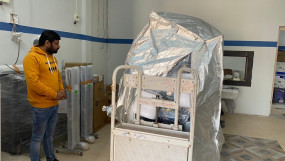 जिला अस्पताल में पहुंची सीटी स्कैन मशीन - अगले सप्ताह तक इंस्टॉल होने की संभावना
